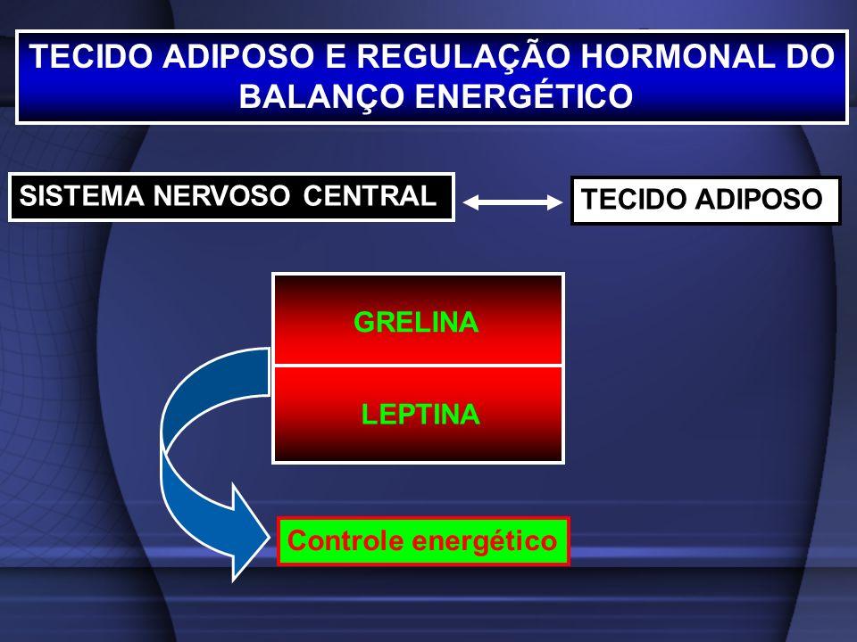 TECIDO ADIPOSO E REGULAÇÃO HORMONAL DO
