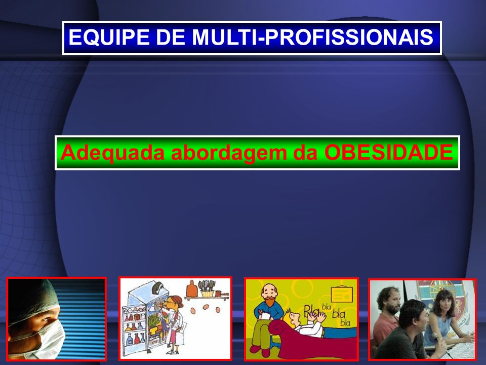 EQUIPE DE MULTI-PROFISSIONAIS