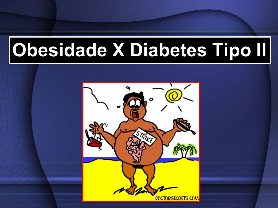 Obesidade X Diabetes Tipo II