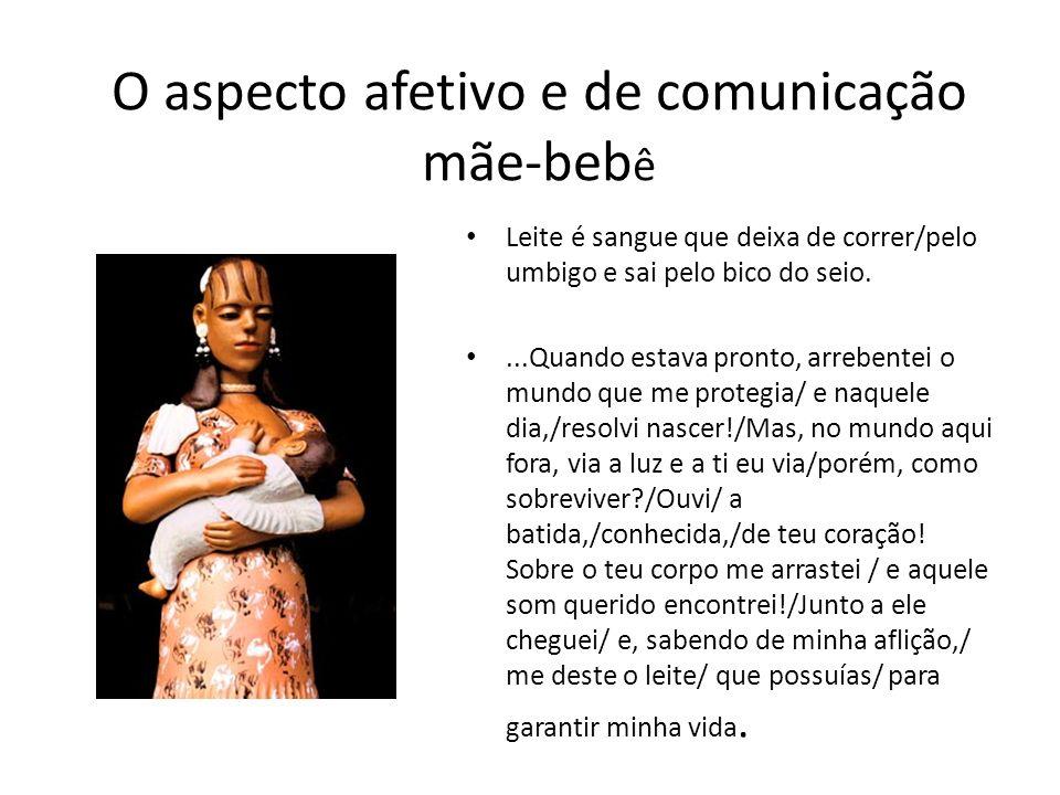 O aspecto afetivo e de comunicação mãe-bebê