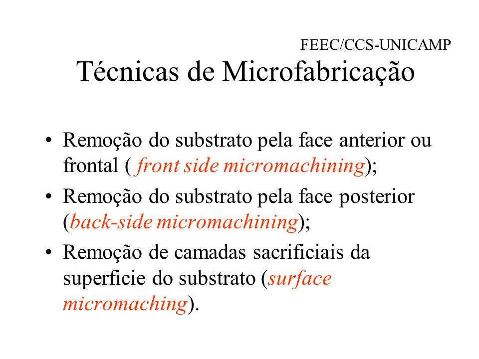 Técnicas de Microfabricação