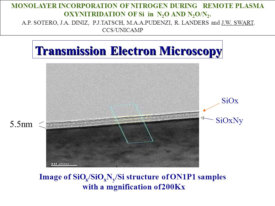 Transmission Electron Microscopy Transmission Electron Microscopy