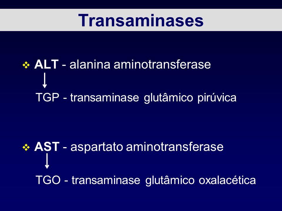 Transaminases ALT - alanina aminotransferase