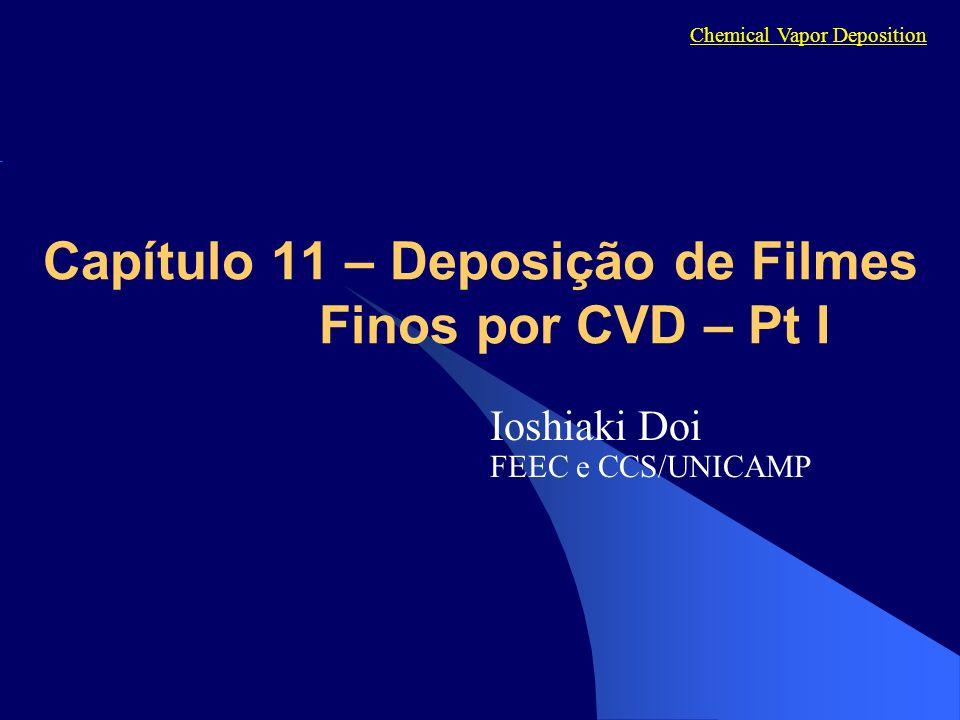 Capítulo 11 – Deposição de Filmes Finos por CVD – Pt I