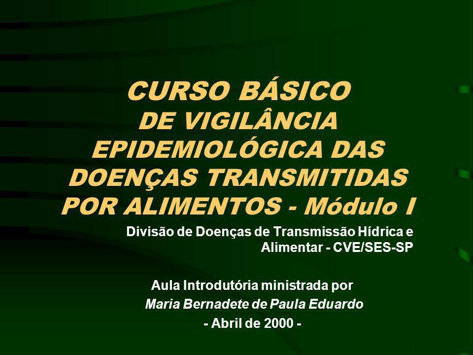 Aula Introdutória ministrada por Maria Bernadete de Paula Eduardo