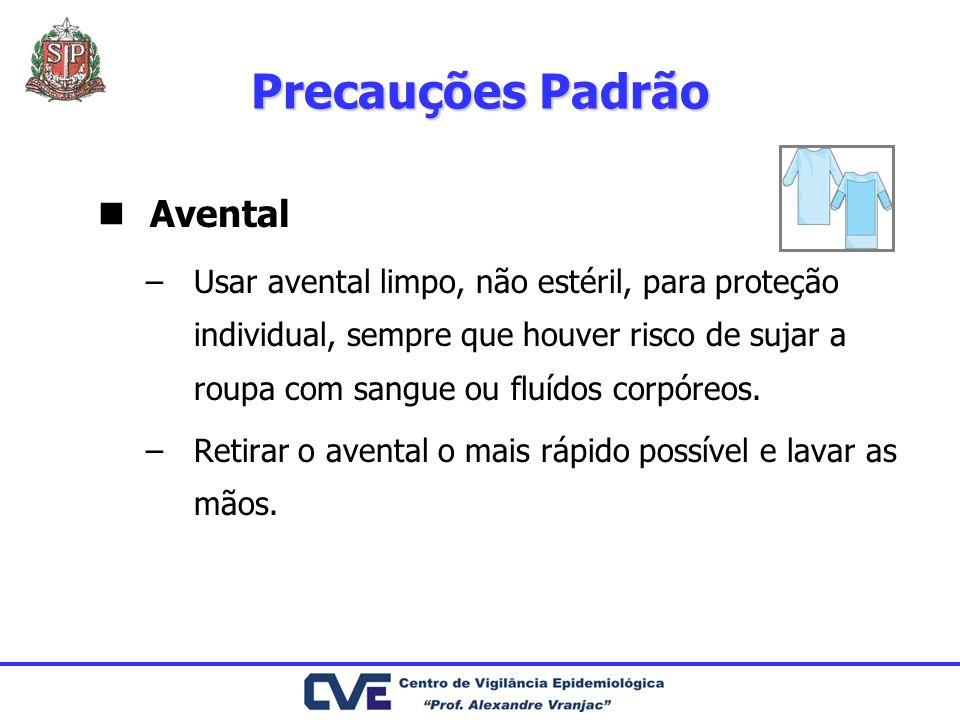 Precauções Padrão Avental