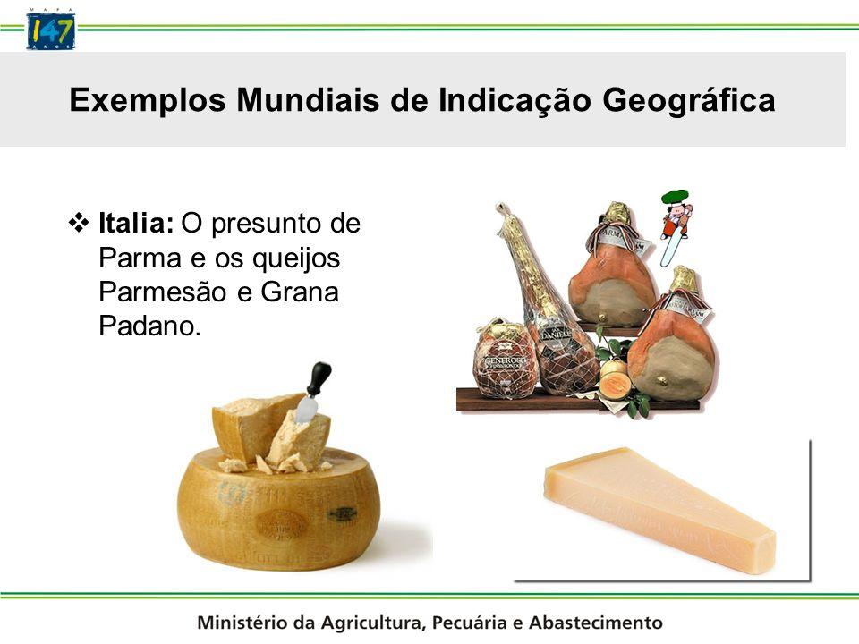Exemplos Mundiais de Indicação Geográfica