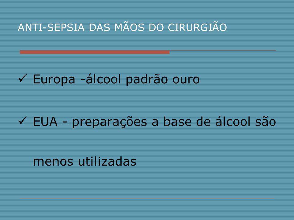 Europa -álcool padrão ouro