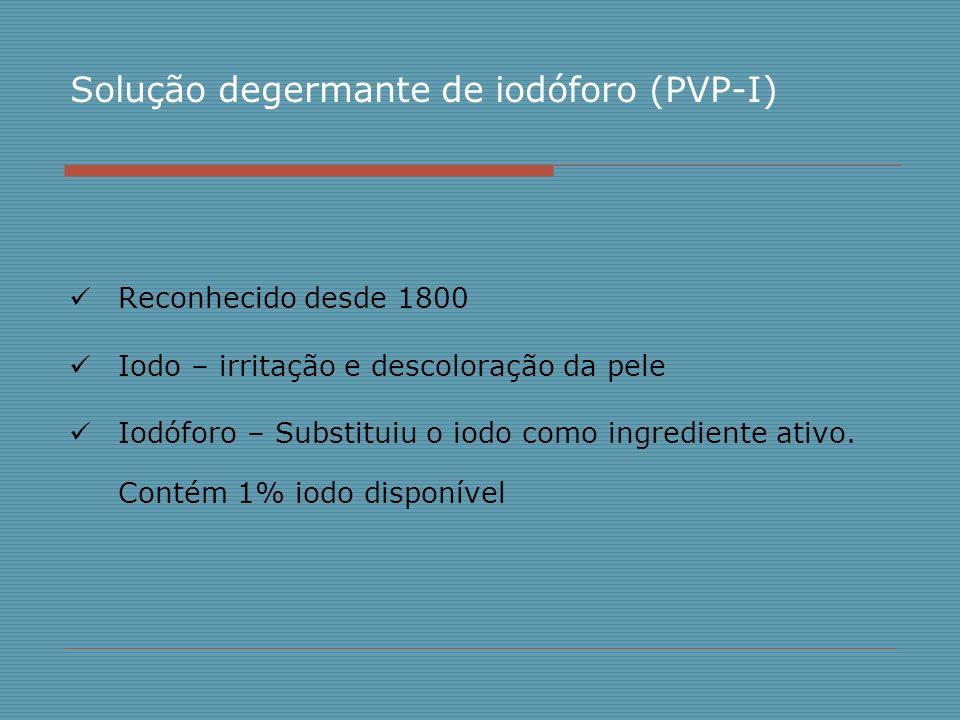 Solução degermante de iodóforo (PVP-I)
