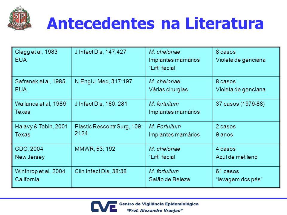Antecedentes na Literatura