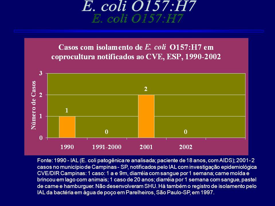 E. coli O157:H7