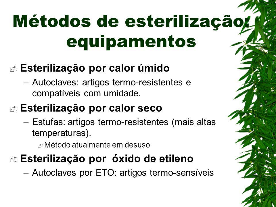 Métodos de esterilização: equipamentos