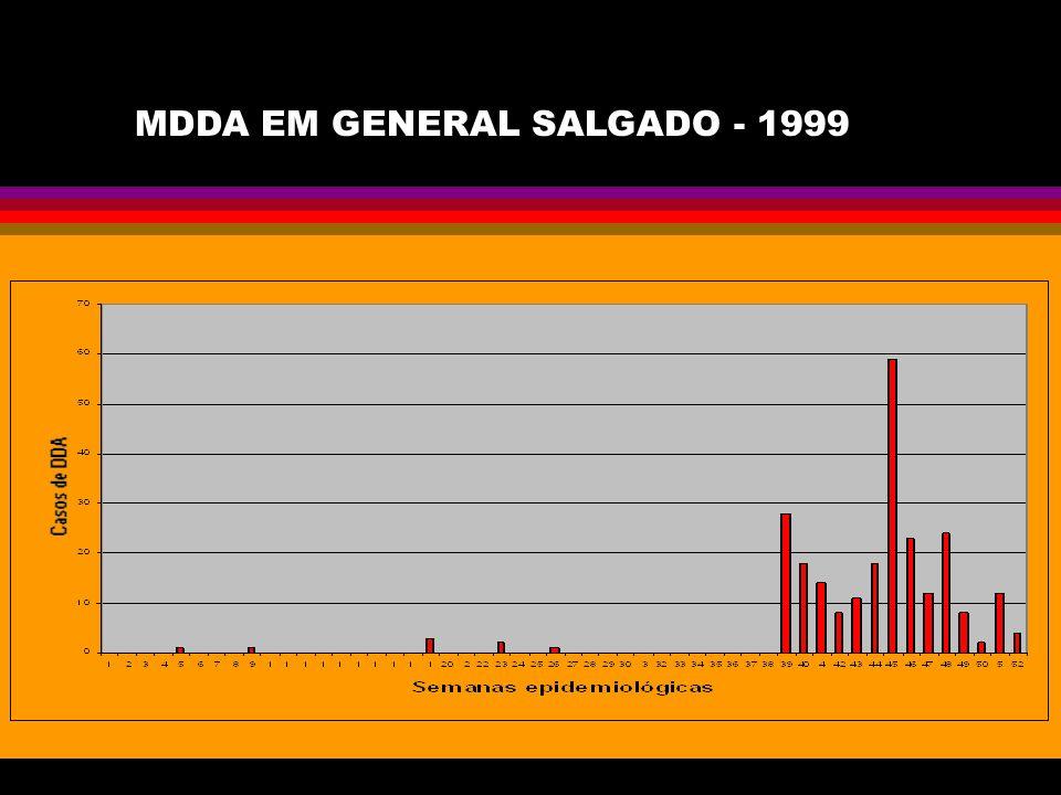 MDDA EM GENERAL SALGADO - 1999