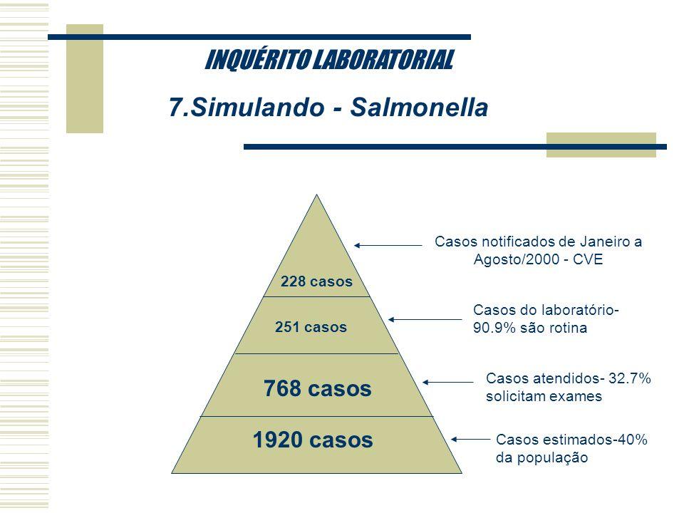 7.Simulando - Salmonella