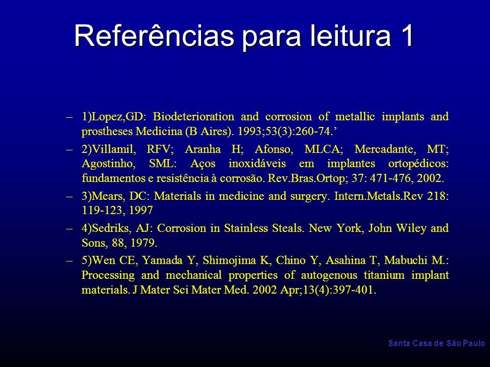 Referências para leitura 1