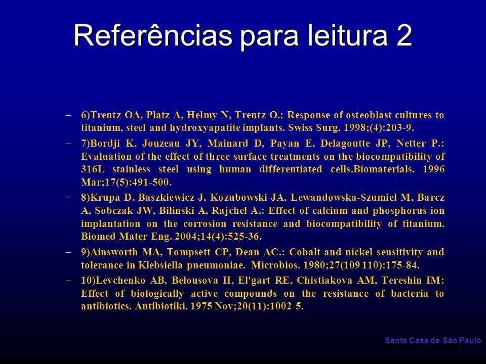 Referências para leitura 2