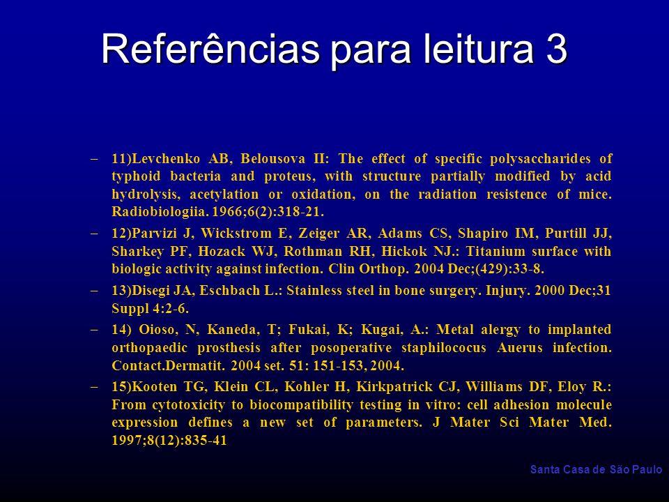 Referências para leitura 3