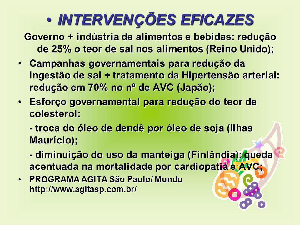 INTERVENÇÕES EFICAZES