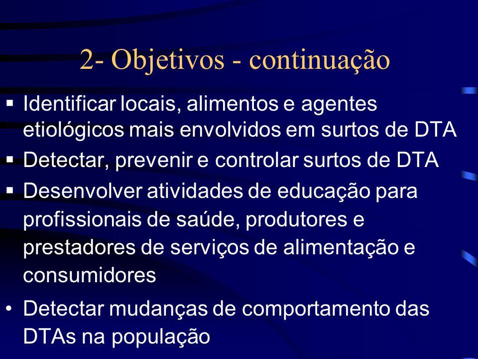 2- Objetivos - continuação