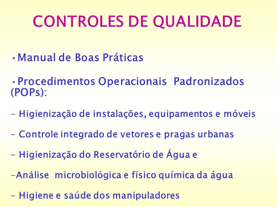 CONTROLES DE QUALIDADE