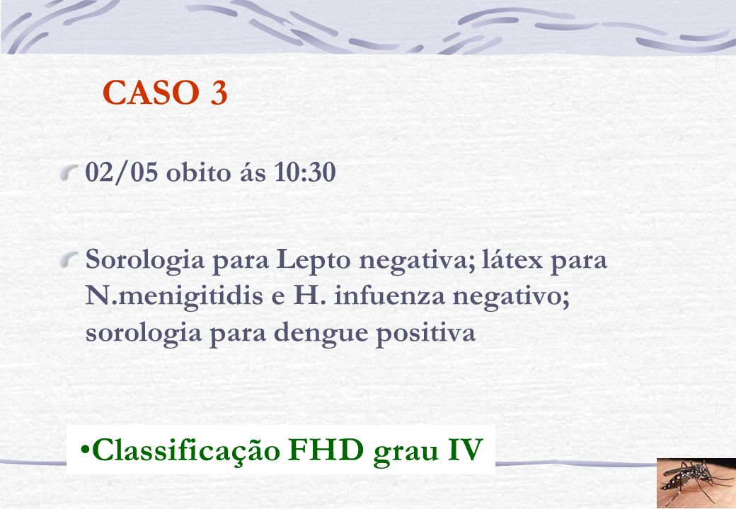 Classificação FHD grau IV