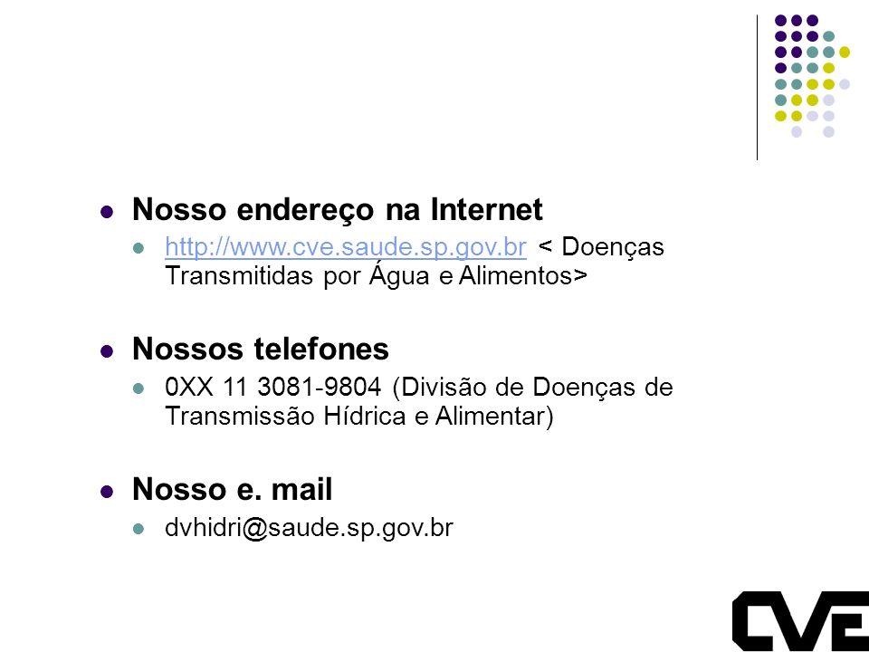 Nosso endereço na Internet