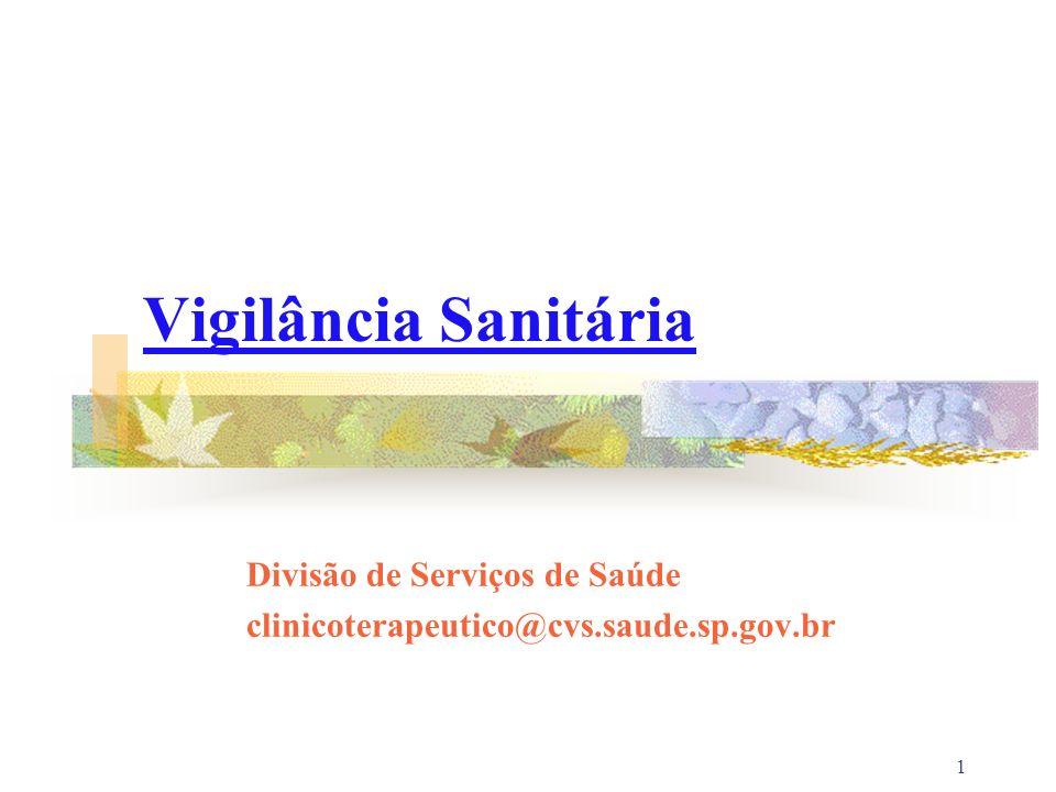Divisão de Serviços de Saúde clinicoterapeutico@cvs.saude.sp.gov.br