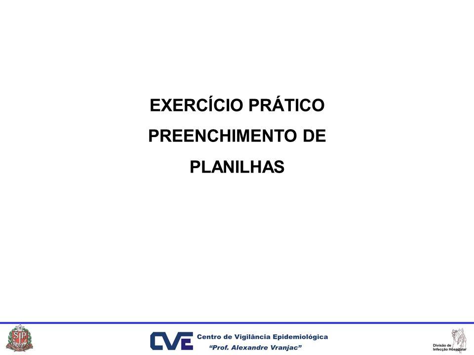 EXERCÍCIO PRÁTICO PREENCHIMENTO DE PLANILHAS