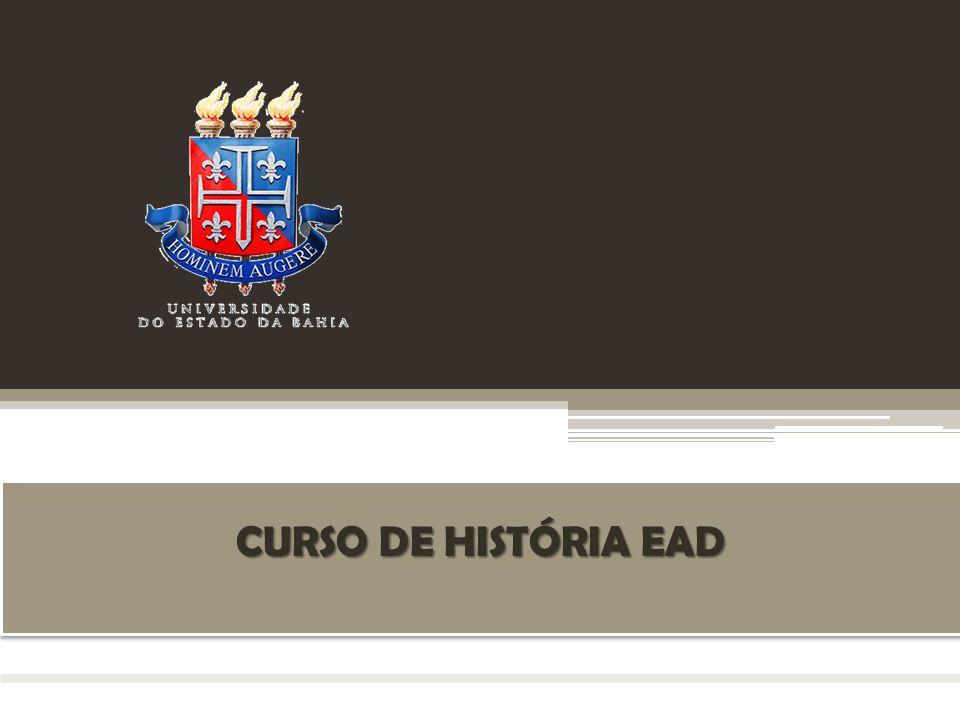 CURSO DE HISTÓRIA EAD