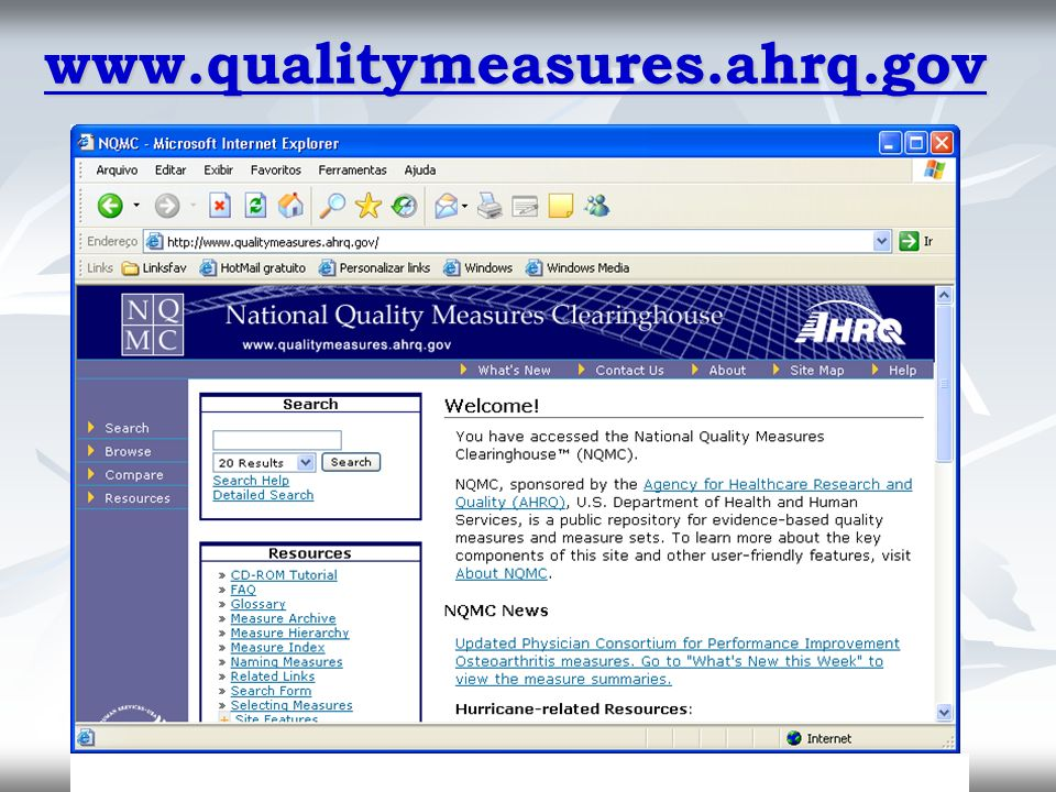 www.qualitymeasures.ahrq.gov