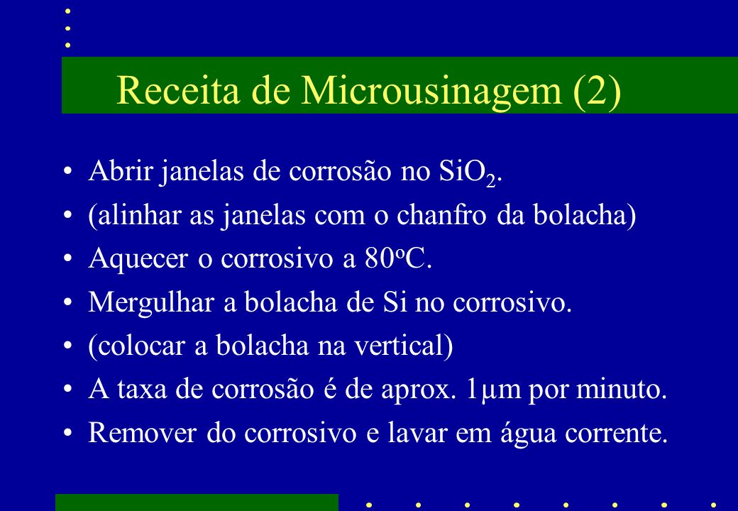 Receita de Microusinagem (2)