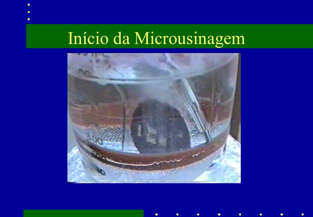 Início da Microusinagem
