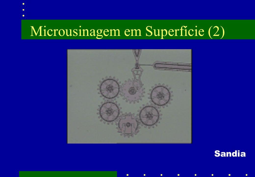 Microusinagem em Superfície (2)