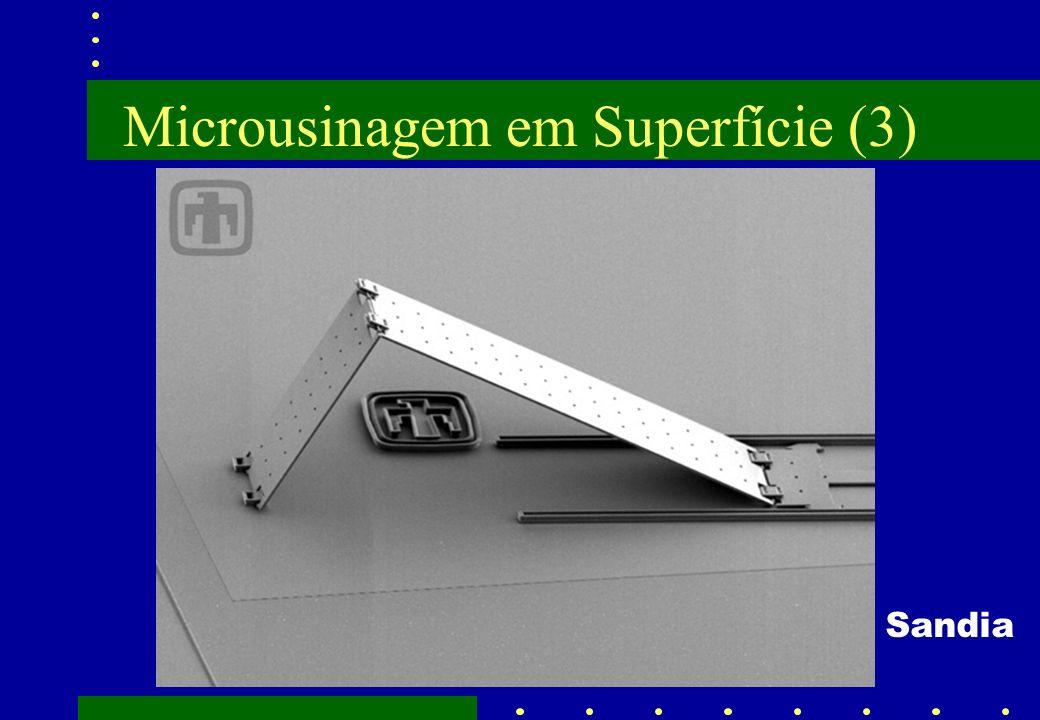 Microusinagem em Superfície (3)
