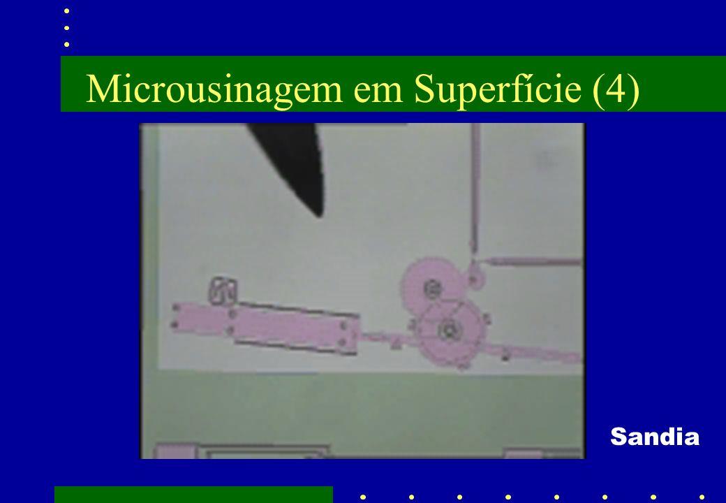 Microusinagem em Superfície (4)