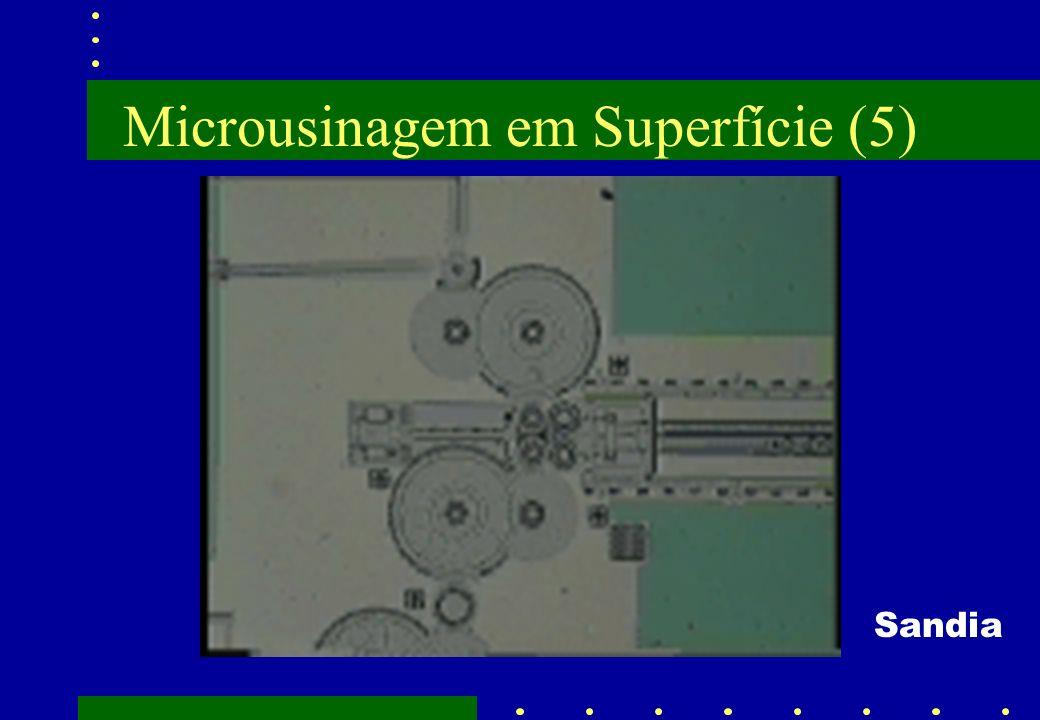 Microusinagem em Superfície (5)