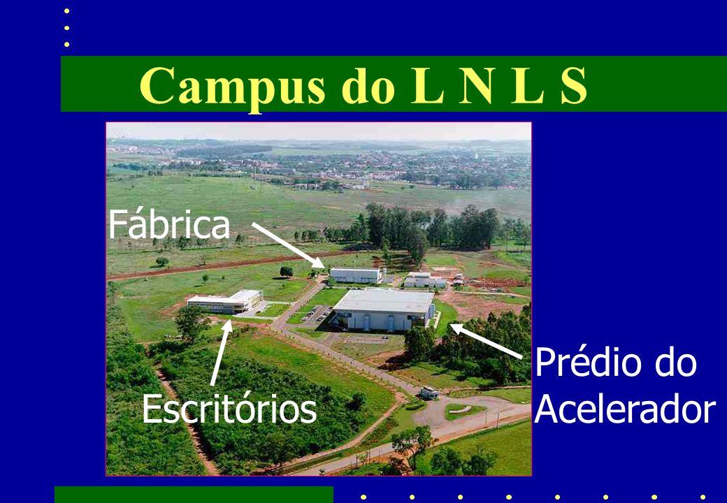 Campus do L N L S Fábrica Escritórios Prédio do Acelerador