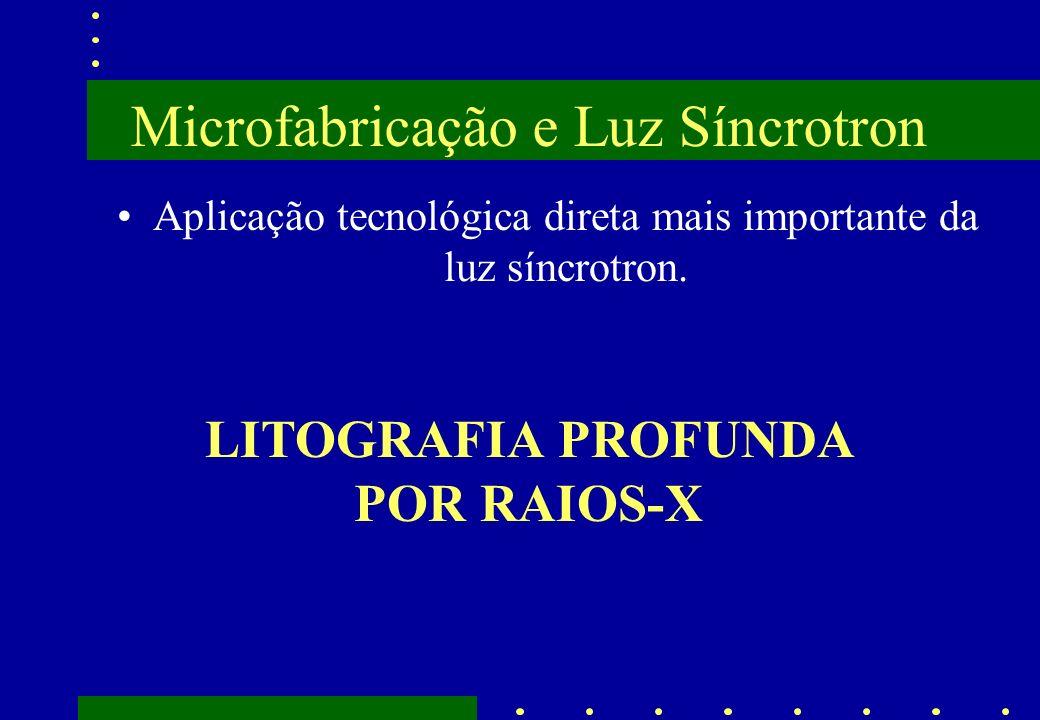 Microfabricação e Luz Síncrotron