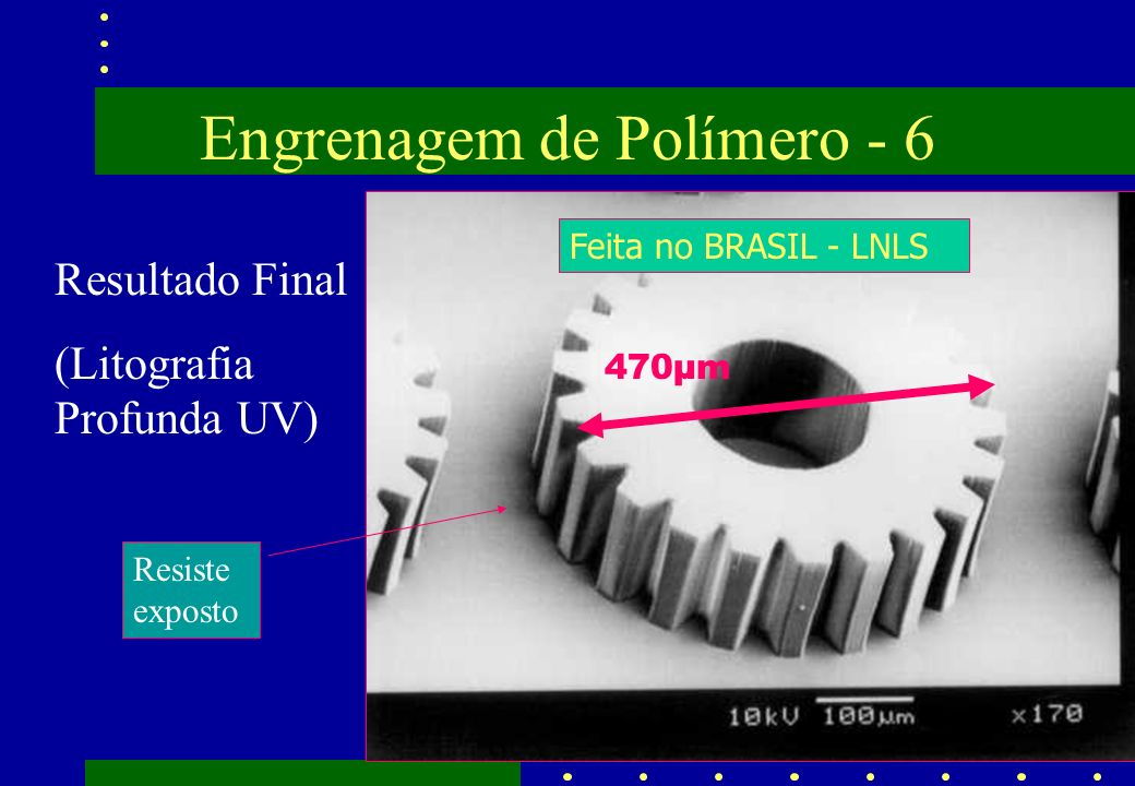 Engrenagem de Polímero - 6
