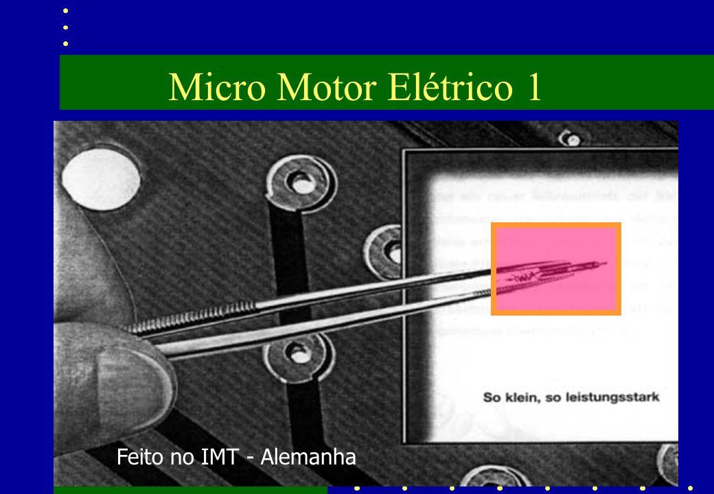 Micro Motor Elétrico 1 Feito no IMT - Alemanha