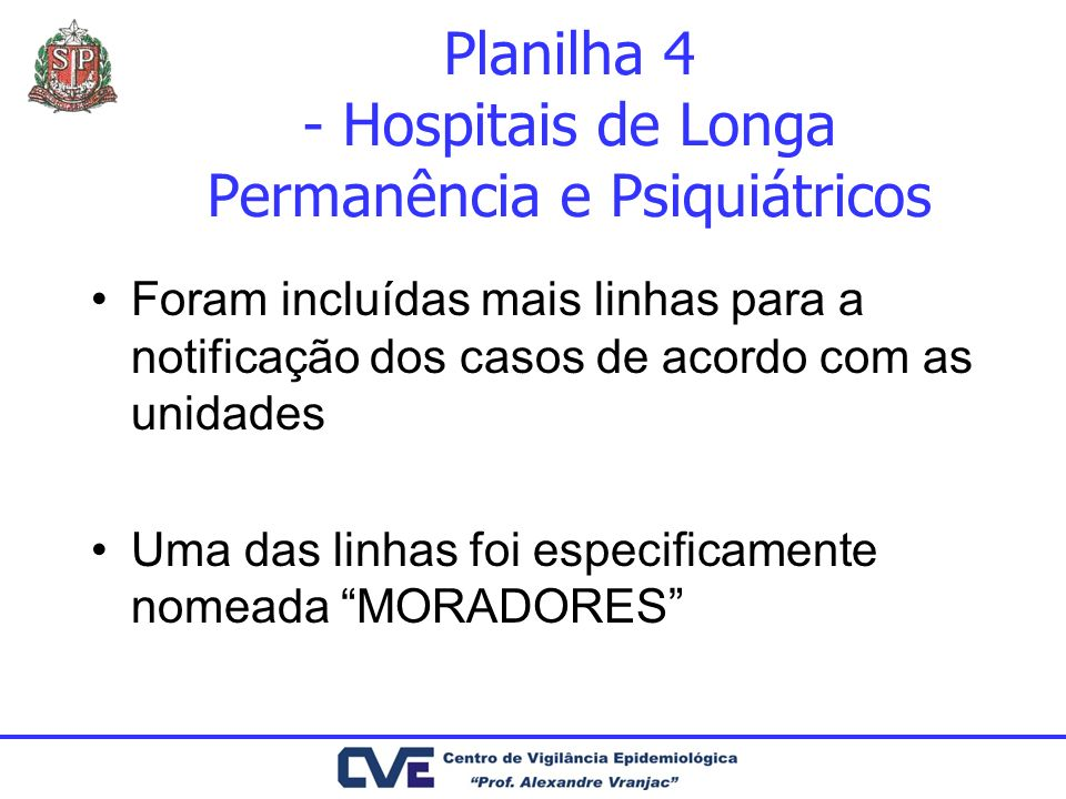 Planilha 4 - Hospitais de Longa Permanência e Psiquiátricos