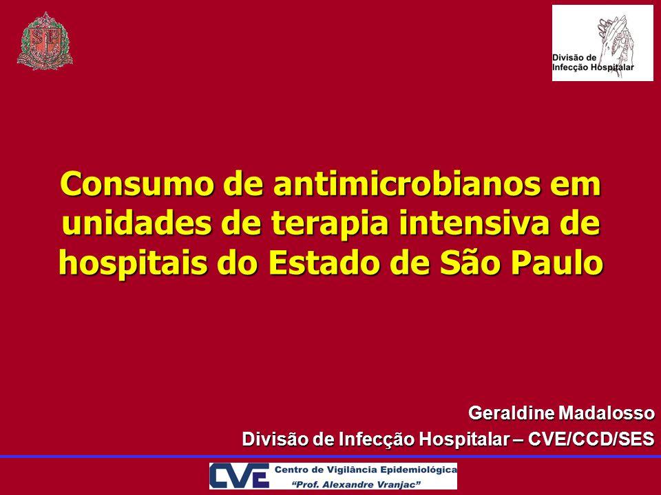 Geraldine Madalosso Divisão de Infecção Hospitalar – CVE/CCD/SES