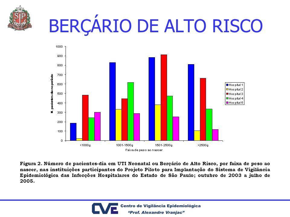 BERÇÁRIO DE ALTO RISCO