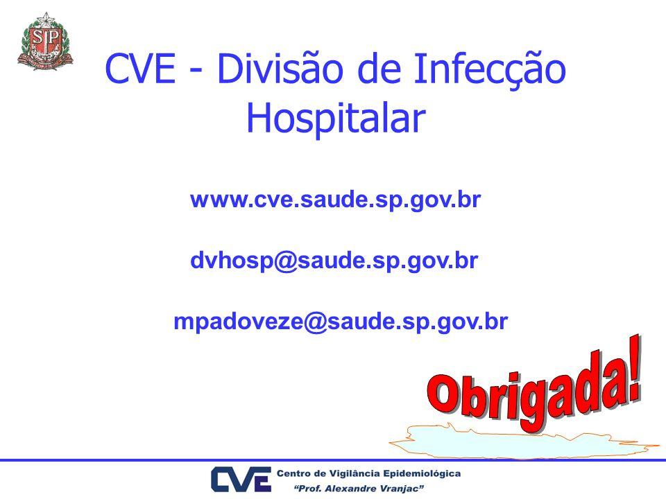 CVE - Divisão de Infecção Hospitalar