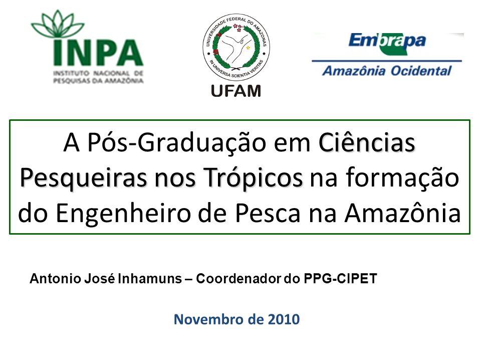 A Pós-Graduação em Ciências Pesqueiras nos Trópicos na formação do Engenheiro de Pesca na Amazônia