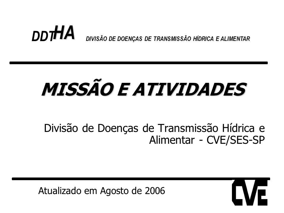 HA MISSÃO E ATIVIDADES DDT