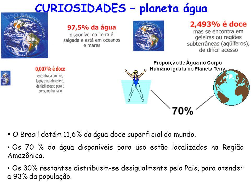 CURIOSIDADES – planeta água