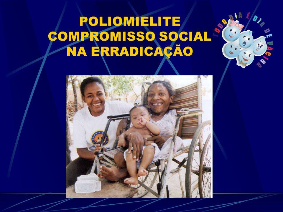 POLIOMIELITE COMPROMISSO SOCIAL NA ERRADICAÇÃO