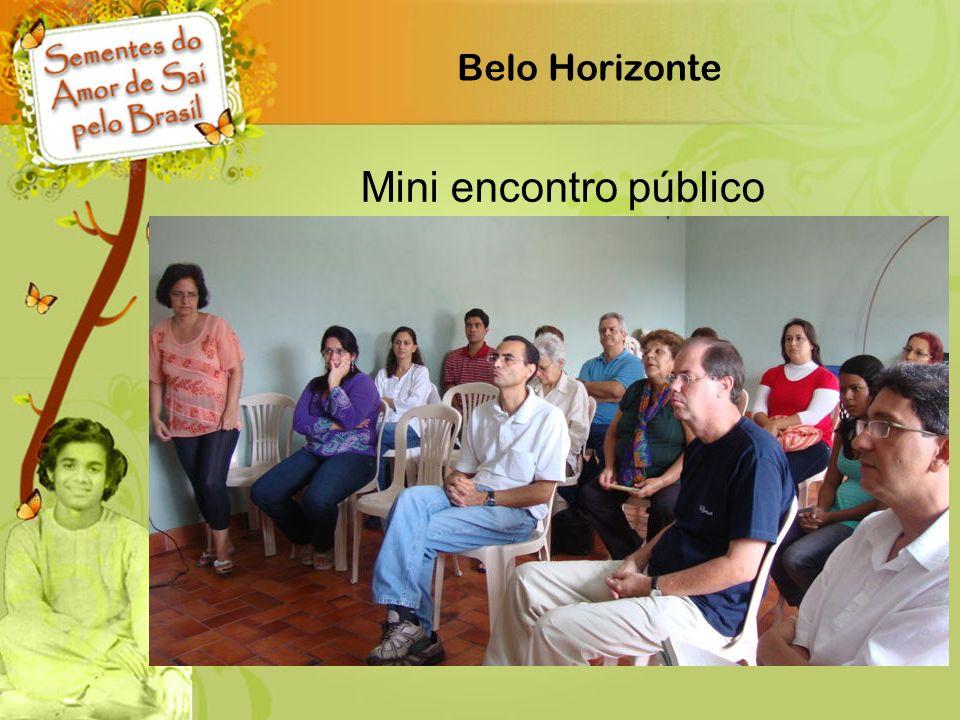 Belo Horizonte Mini encontro público