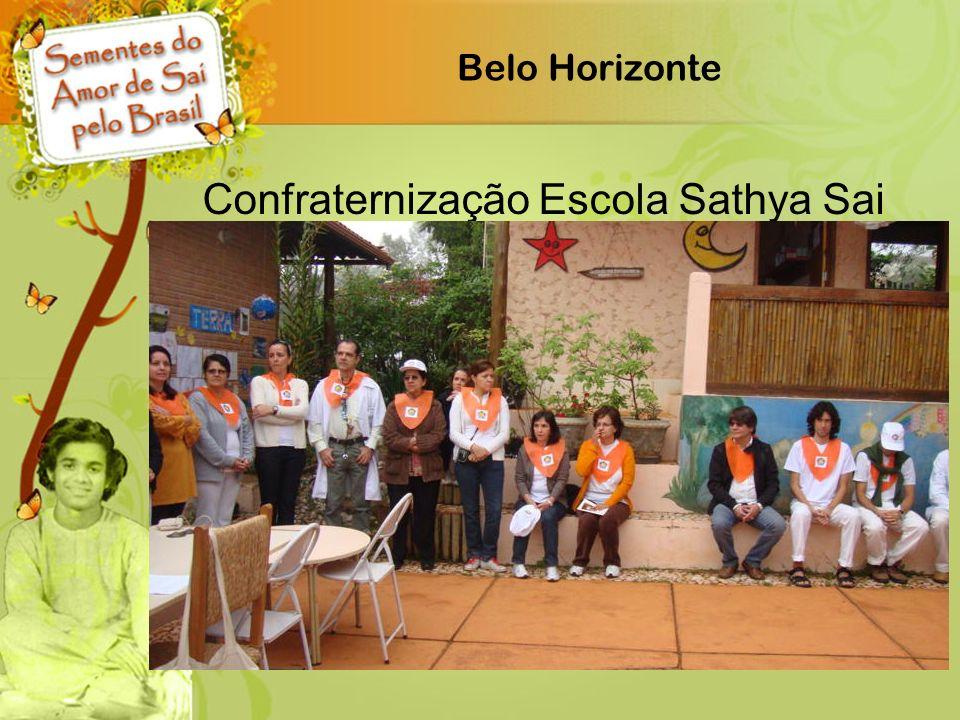 Confraternização Escola Sathya Sai
